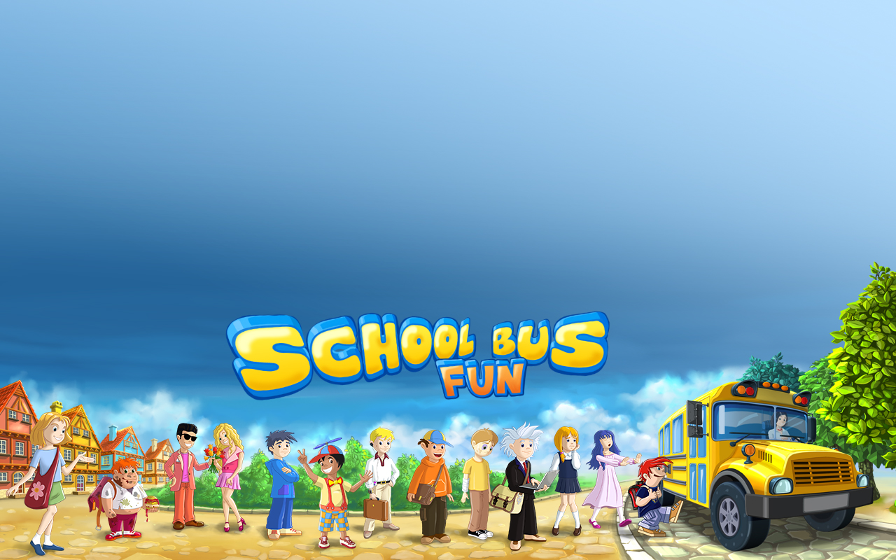 School Bus Fun School Bus Fun Desktop Wallpaper 1280x800